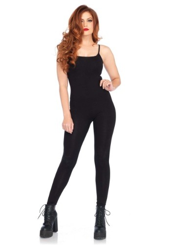 Basic Black Unitard Costume for Women