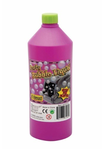 Quart of Bubble Liquid