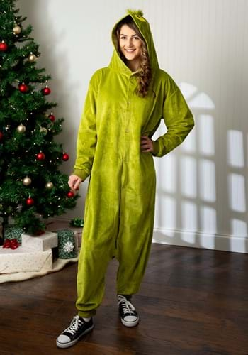 The Grinch Adult Kigurumi Costume