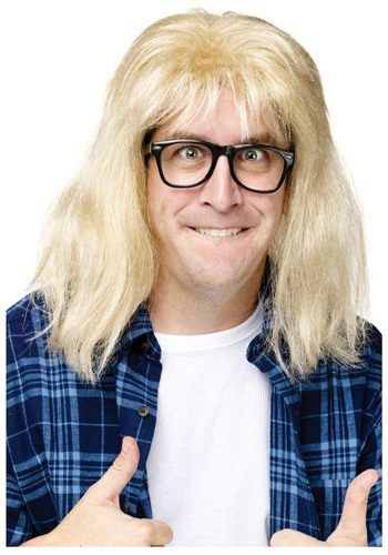Click Here to buy SNL Garth Algar Wig from HalloweenCostumes, CDN Funds & Shipping