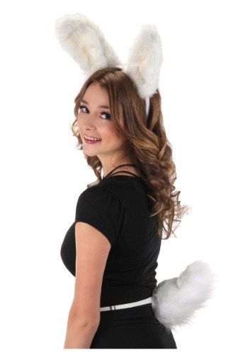 Click Here to buy Deluxe White Bunny Tail from HalloweenCostumes, CDN Funds & Shipping