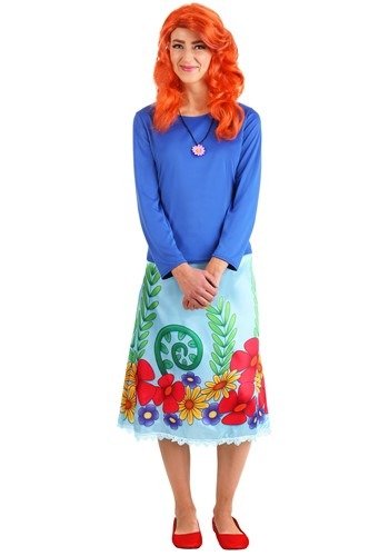 Click Here to buy Adult The Magic School Bus Rides Again Ms. Fiona Frizzle from HalloweenCostumes, CDN Funds & Shipping