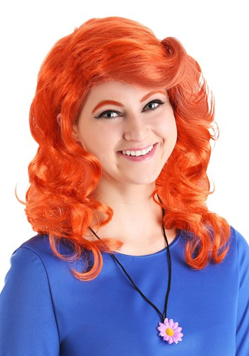 Click Here to buy The Magic School Bus Rides Again Miss Fiona Frizzle Wig from HalloweenCostumes, CDN Funds & Shipping