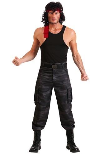 Click Here to buy Mens John Rambo Costume from HalloweenCostumes, CDN Funds & Shipping