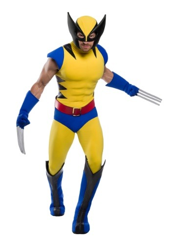 Premium Marvel Wolverine Plus Size Costume for Men