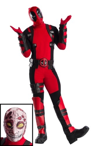 Premium Marvel Deadpool Men's Costume