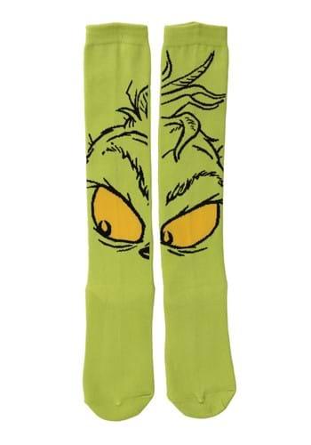 Knee High The Grinch Socks