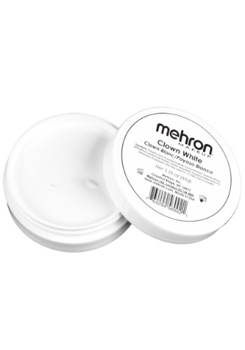 Click Here to buy 2.25 Oz Clown White Premium Quality Makeup from HalloweenCostumes, CDN Funds & Shipping