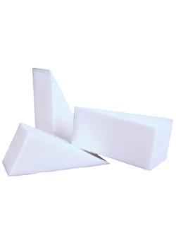 Non Latex Triangular Foam Sponge 6 pack