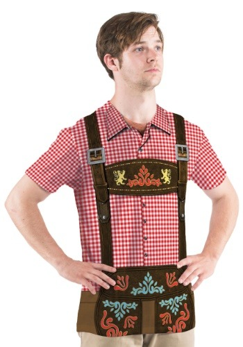 Oktoberfest Short Sleeve Costume Tee for Men