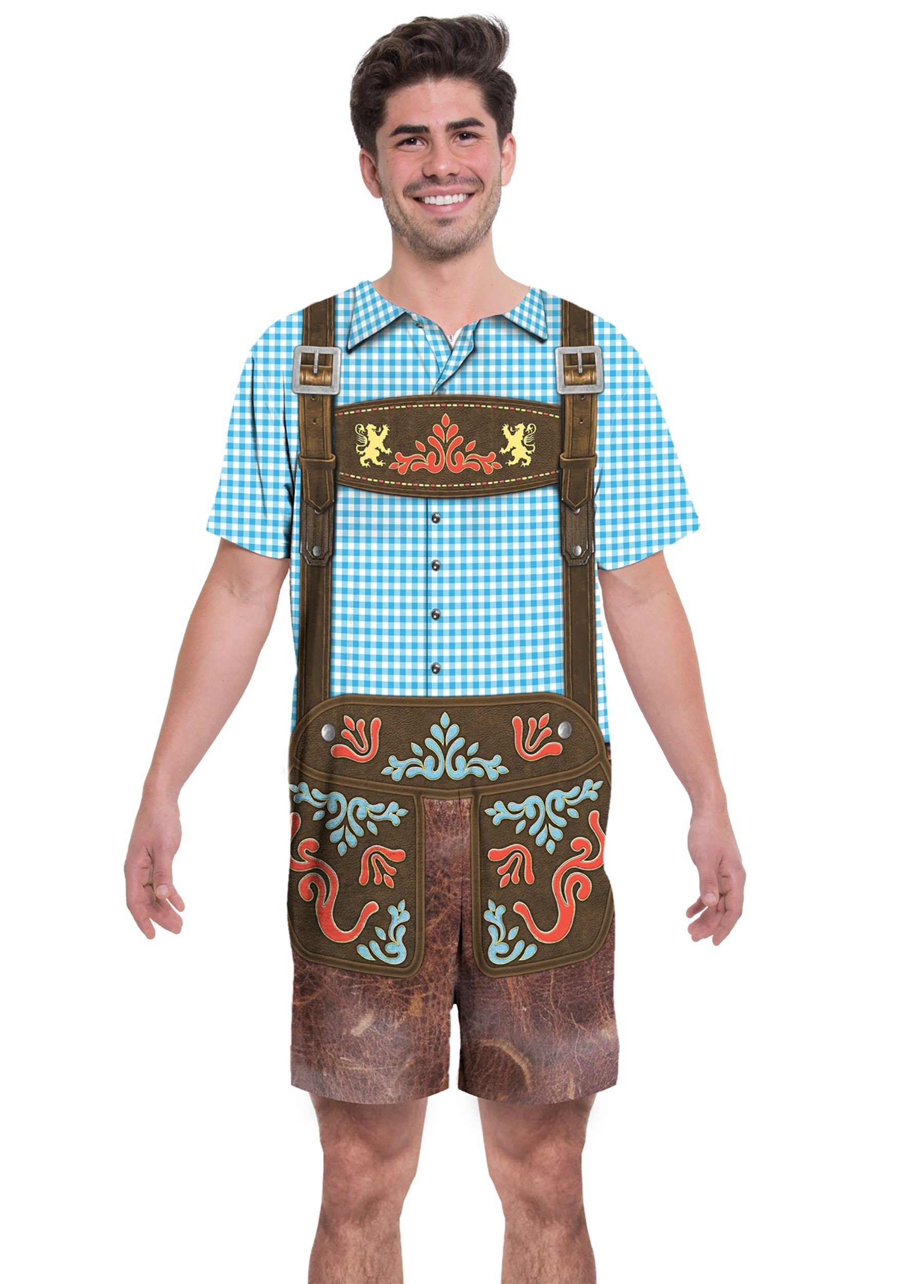 INOpets.com Anything for Pets Parents & Their Pets Oktoberfest Romper Costume for Adults