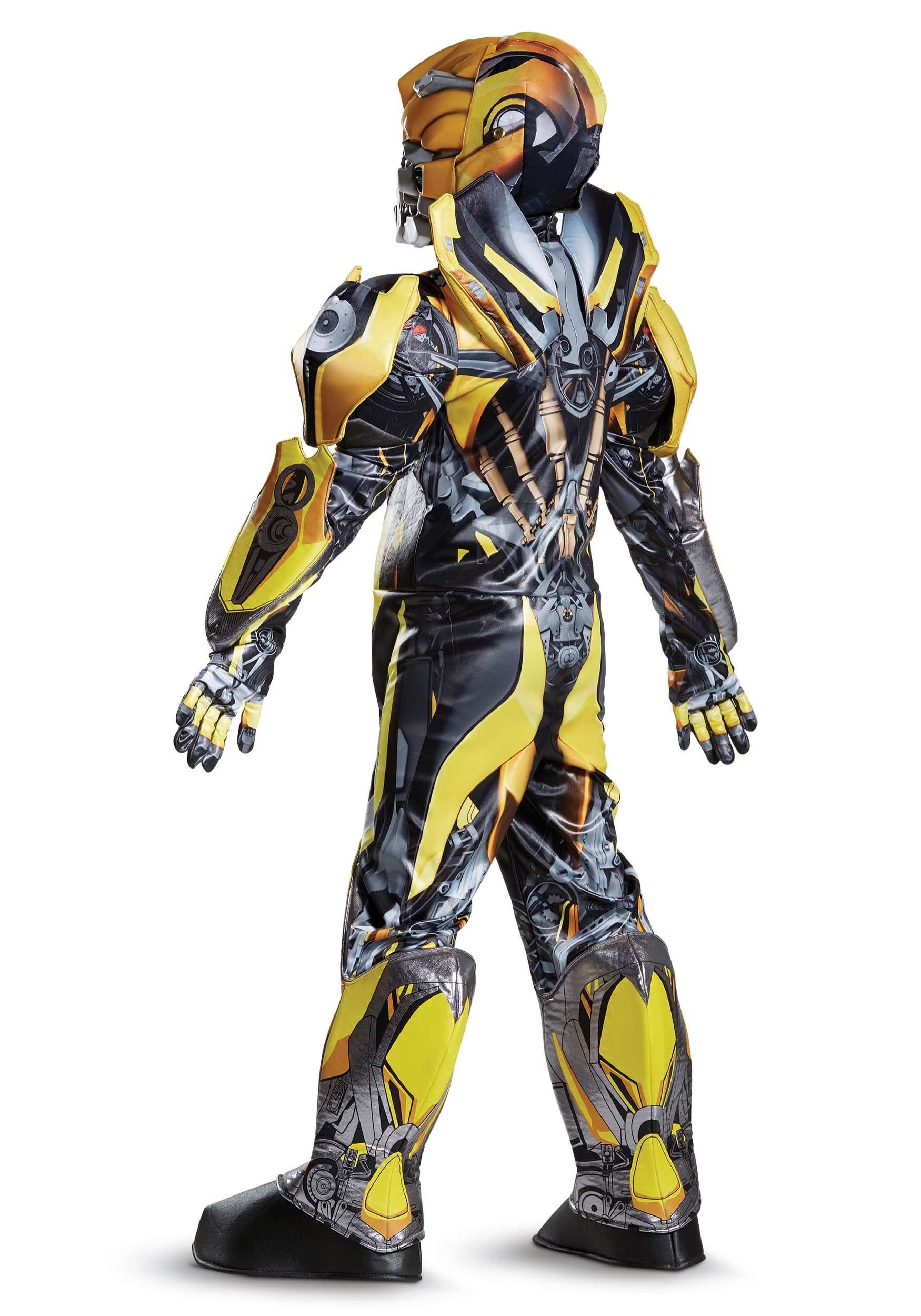 boys transformers 5 bumblebee prestige costume. Black Bedroom Furniture Sets. Home Design Ideas