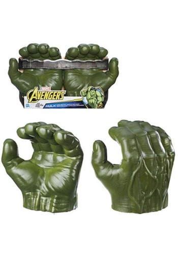 Click Here to buy Kids Hulk Gamma Grip Fists from Avengers: Infinity War from HalloweenCostumes, CDN Funds & Shipping
