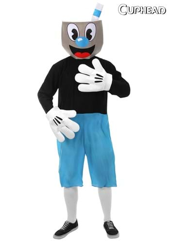 Click Here to buy Mugman Adult  Costume from HalloweenCostumes, CDN Funds & Shipping