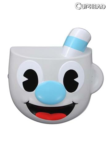 Click Here to buy Mugman Adult Vacuform Mask from HalloweenCostumes, CDN Funds & Shipping
