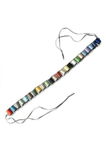 Click Here to buy Mad Hatter Thread Bandolier from HalloweenCostumes, CDN Funds & Shipping