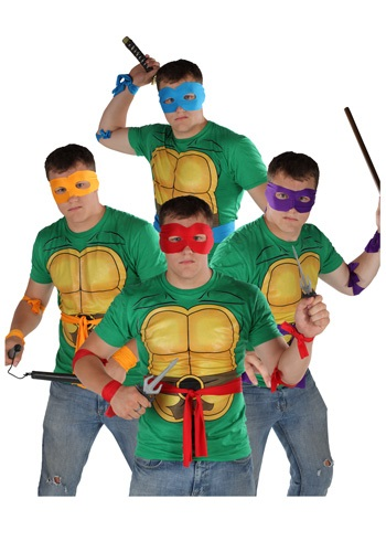 Click Here to buy Ninja Turtles Accessory Kit from HalloweenCostumes, CDN Funds & Shipping