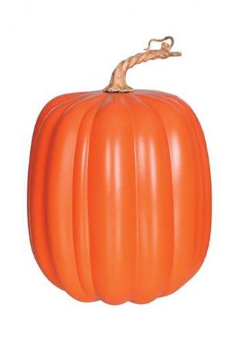 """10"""" Orange Tall Pumpkin"""