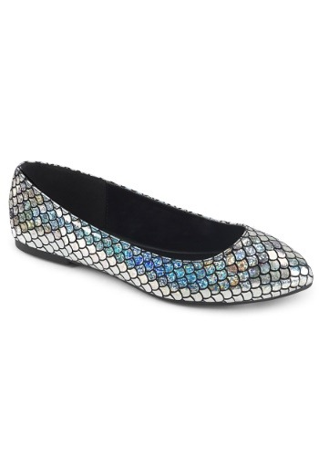 Click Here to buy Silver Mermaid Womens Shoes from HalloweenCostumes, CDN Funds & Shipping