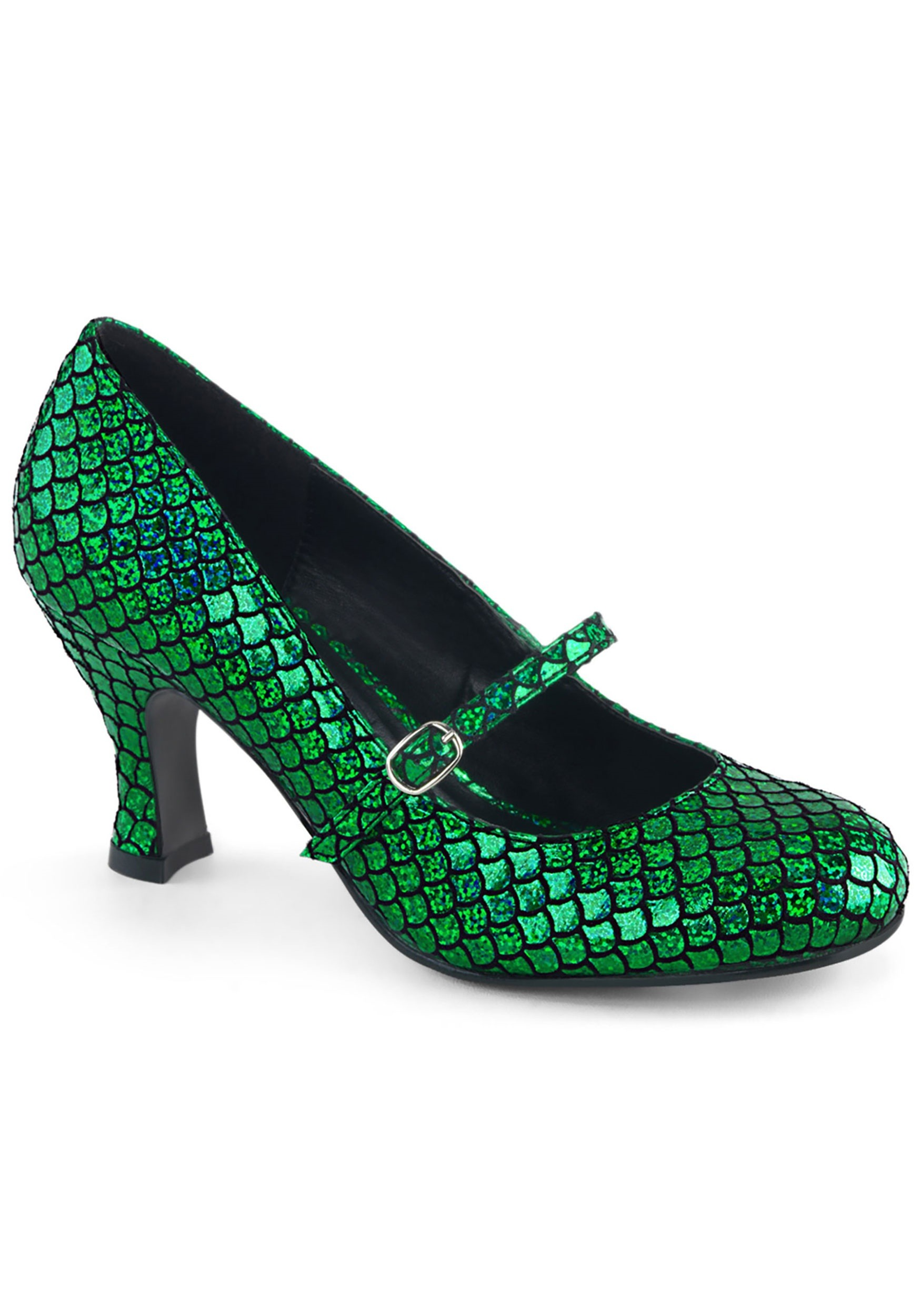 INOpets.com Anything for Pets Parents & Their Pets Green Mermaid Women's Heels