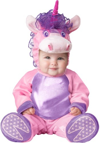 Click Here to buy Lil Unicorn Costume for an Baby from HalloweenCostumes, CDN Funds & Shipping