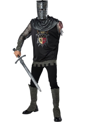 Click Here to buy Black Knight Costume for Adults from HalloweenCostumes, CDN Funds & Shipping