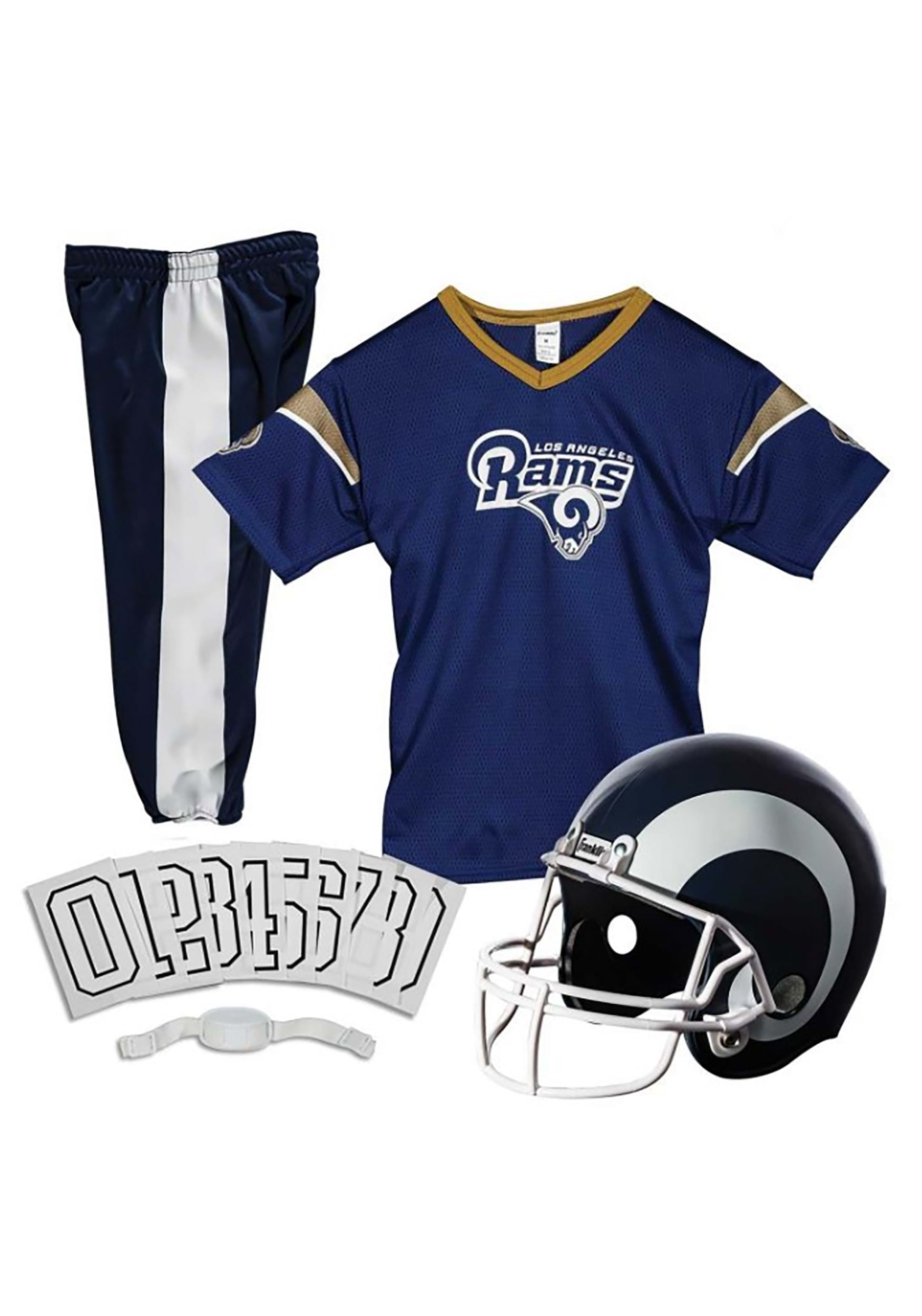 INOpets.com Anything for Pets Parents & Their Pets Los Angeles Rams NFL Uniform Costume