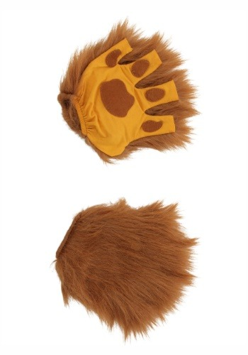 Lion Paws Fingerless Gloves for Adults