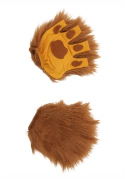 Lion Paws Fingerless Gloves
