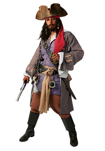 Click Here to buy Realistic Caribbean Pirate Costume | Mens Pirate Costume from HalloweenCostumes, CDN Funds & Shipping