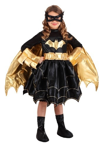 Click Here to buy Deluxe DC Comics Batgirl Girls Costume from HalloweenCostumes, CDN Funds & Shipping