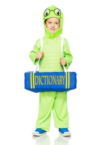 Click Here to buy Book Worm Kids Costume from HalloweenCostumes, CDN Funds & Shipping