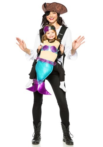 Adult Pirate and Mermaid Toddler Costume
