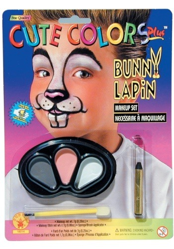 Click Here to buy Bunny Rabbit Makeup Kit from HalloweenCostumes, CDN Funds & Shipping
