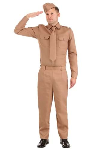 Click Here to buy WW2 Adult Army Costume from HalloweenCostumes, CDN Funds & Shipping