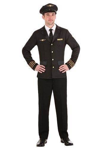 Click Here to buy Mile High Pilot Adult Costume from HalloweenCostumes, CDN Funds & Shipping