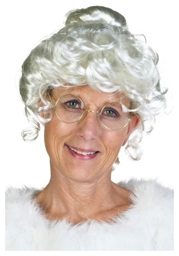 Click Here to buy Deluxe Mrs. Claus Wig from HalloweenCostumes, CDN Funds & Shipping