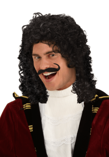 Click Here to buy Captain Hook Costume Wig - Adult Pirate Wigs from HalloweenCostumes, CDN Funds & Shipping