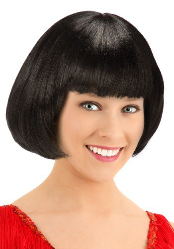 Click Here to buy Deluxe Black Flapper Wig from HalloweenCostumes, CDN Funds & Shipping