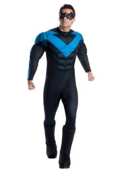 Deluxe Nightwing Mens Costume