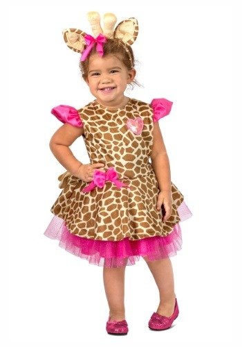 Gigi Giraffe Costume for a Toddler
