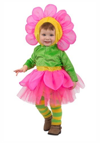 Toddler Girls Flower Costume