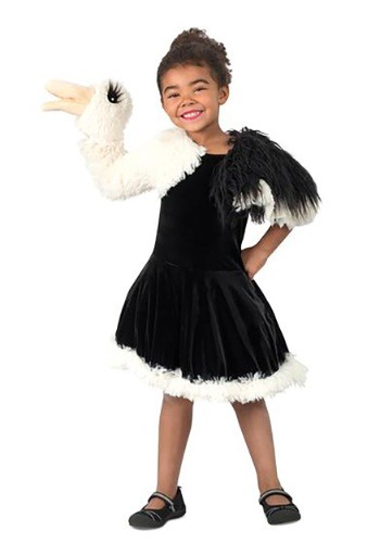 Girls Puppet Ostrich Costume