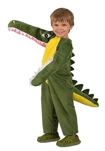 Click Here to buy Kidss Chomping Crocodile Costume from HalloweenCostumes, CDN Funds & Shipping