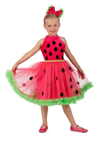 Watermelon Miss Costume for Girls