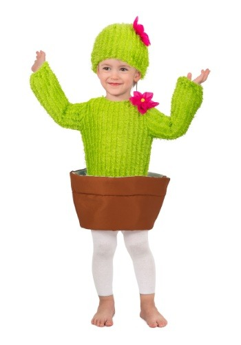 Click Here to buy Prickles the Cactus Costume for a Kids from HalloweenCostumes, CDN Funds & Shipping