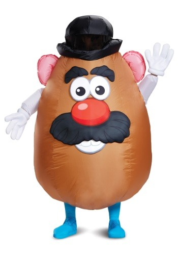 Inflatable Mr. Potato Head Adult Costume
