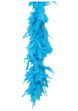 Turquoise 80 Gram Feather Boa