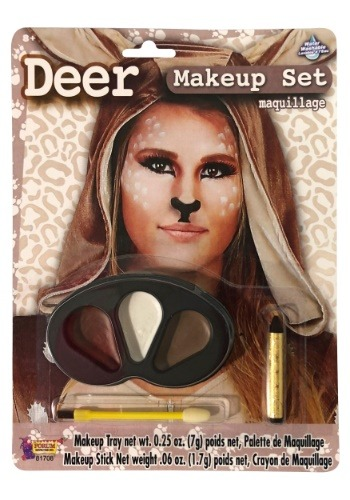 Click Here to buy Deer Makeup Kit Water Washable from HalloweenCostumes, CDN Funds & Shipping