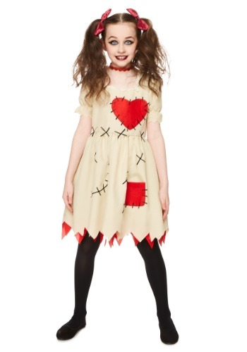 Click Here to buy Voodoo Doll Girls Costume from HalloweenCostumes, CDN Funds & Shipping